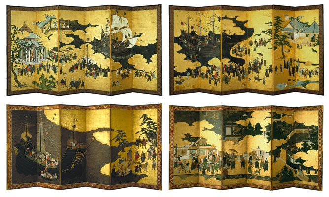 Namban Folding Screens