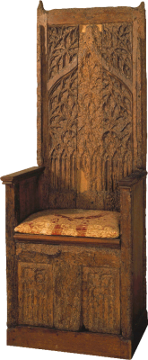 Ceremonial Armchair (said to be of King Afonso V)