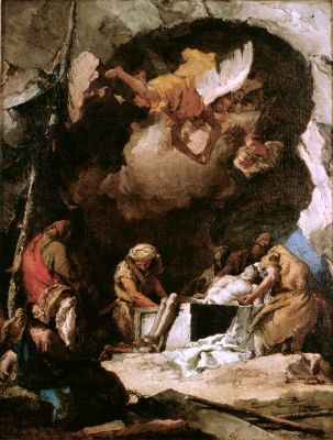 Deposition of Christ in the Tomb