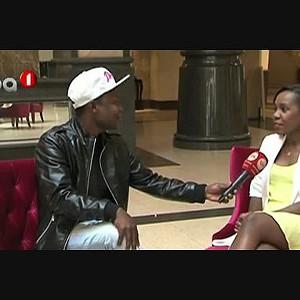 Entrevista com a cantora Erika Nelumba
