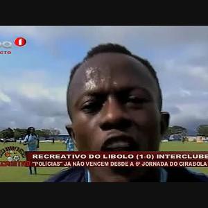Recreativo do Lobito (1 - 0) Interclube