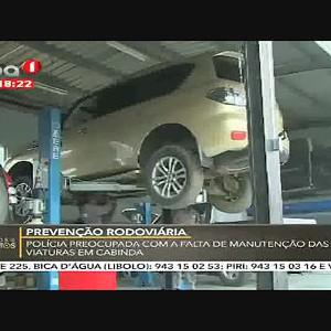 Prevenção Rodoviária - Polícia preocupada com a falta de manutenção da via