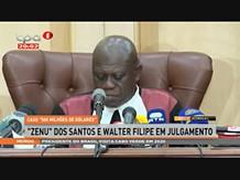"""Zenu Dos Santos e Walter Filipe em Julgamento """"Caso 500 milhões de dólares"""""""