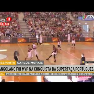 Carlos Morais eleito MVP na conquista da supertaça portuguesa