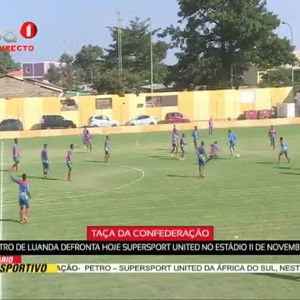Petro de Luanda x Spersport , hoje as 16h00