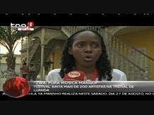 Festival junta mais de 200 artistas na trienal de Luanda