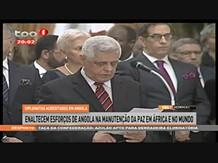 Diplomatas acreditados em Angola enaltecem esforços de Angola