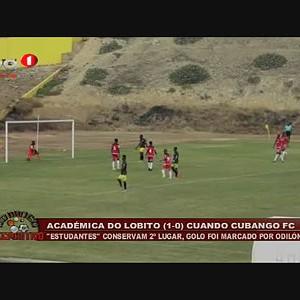 Académica do Lobito (1 - 0) Cuando Cubango FC