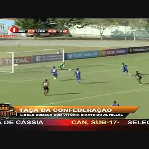 """Libolo começa com vitória diante do Al Hillal """"Taça da Confederação"""""""