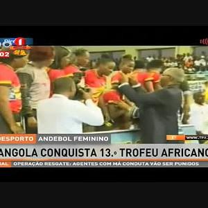 Andebol feminino - Angola conquista 13º trófeu africano