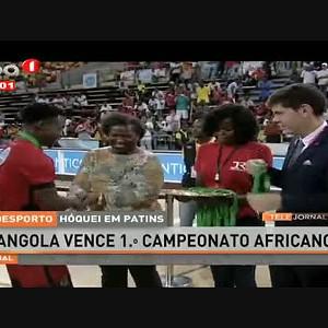 Hóquei Em Patins - Angola vence 1º campeonato Africano
