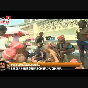 Escola portuguesa domina 3ª Jornada da Mini Liga de Natação