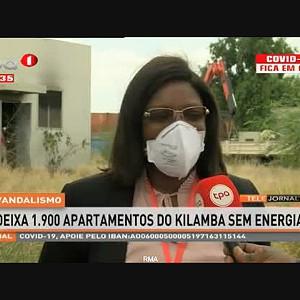 Vandalismo - Deixa 1.900 apartamentos do Kilamba sem energia