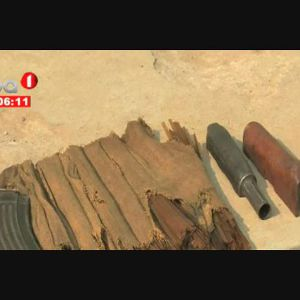 Desarmamento - Quatro armas e meios bélicos diversos apreendidos em Cassongue,