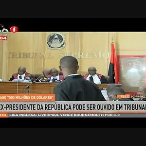 Ex-presidente da República pode ser ouvido em Tribunal