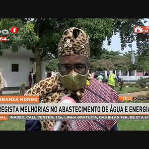Mbanza Kongo regista melhorias no abastecimento de água e energia