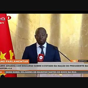 """Ano Parlamentar """"Abre amanhã com discurso sobre o estado da nação do Presidente da República"""""""