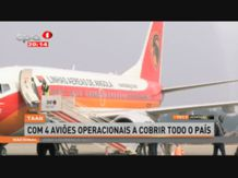 TAAG com 4 aviões operacionais a cobrir todo o país