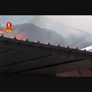 Incêndio deixa família ao relento, Dundo