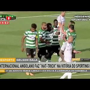 """Internacional angolano faz Hat-Trick"""" na vitória do Sporting B"""