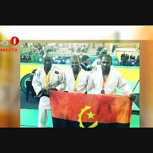 Hálio Zembula campeão de Judo Cat. menos 66 Kg