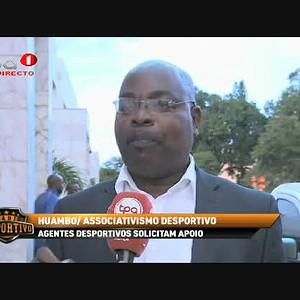 Agentes desportivos solicitam apoio, Huambo