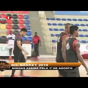 """Eduardo Mingas assina pelo 1º de Agosto """"BIC Basket 2018"""""""