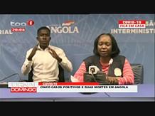 Covid-19: Angola regista duas primeiras mortes