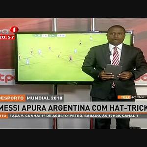 MESSI apura Argentina com Hat-Trick