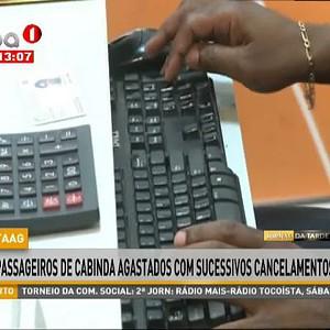 Passageiros de Cabinda agastados com sucessivos cancelamentos