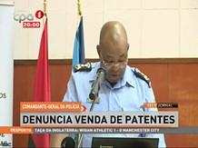 Comandante-Geral da Polícia denuncia venda de patentes
