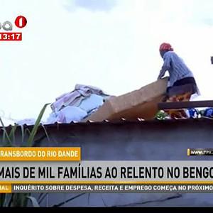 Transbordo do Rio Dande mais de mil famílias ao relento no Bengo