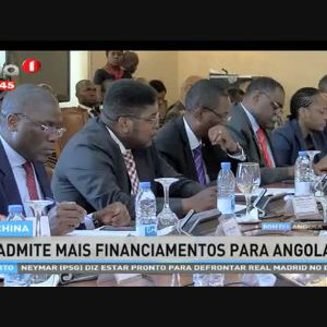 China admite mais financiamentos para Angola