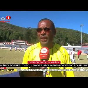 Desportivo da Huila quer Pontuar diante do 1º de Agosto