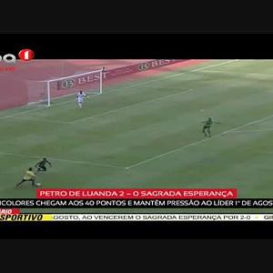 Petro de Luanda 2 - 0 Sagrada Esperança