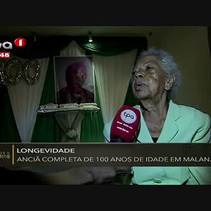 """Longevidade """"Anciã completa 100 anos de idade em Malanje"""""""