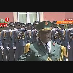 Presidente da República recebe homólogo da Guiné Equatórial