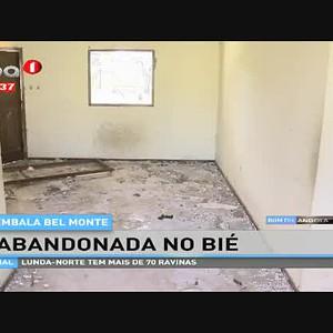 Embala Bel Monte, abandonada no Bié