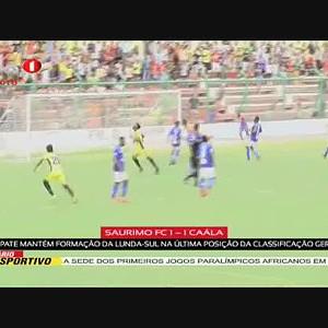 SAURIMO FC 1 - 1 CAÁLA