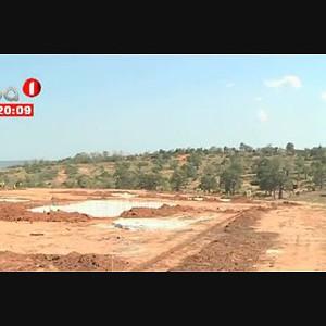 Nova urbanização no Calumbo