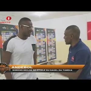 """Andebol """"Conheça o angolano que brilha no Étoile Du Sahel da Tunísia"""""""