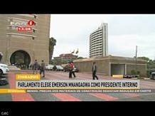 Parlamento do Zimbabwe elege hoje o presidente interino