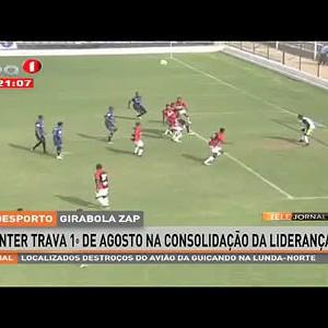 Inter trava 1º de Agosto na consolidação da liderança