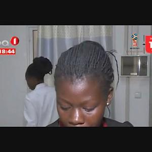 Bebé Abandonada na via pública em Luanda