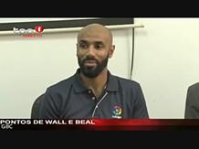 """Frederic Kanouté visita AFA em representação da """"La Liga"""", Luanda"""