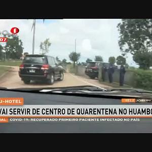 Covid-19: 10 pessoas concluem quarentena domiciliar no Huambo