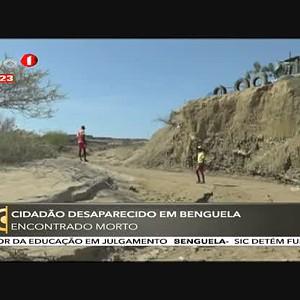 Cidadão desaparecido em Benguela encontrado morto