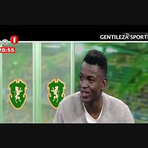Gelson Dala avançado angolano fala das suas ambições no Sporting