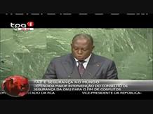 """Vice-Presidente da República discursou em Nova Iorque """"Assembleia-Geral da ONU"""""""