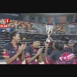 Basquetebol feminino - 1º de Agosto vence Taça de Angola